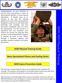 Mentor`s NSW NSO FS Training Resource Guide