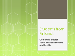 Students from Finland