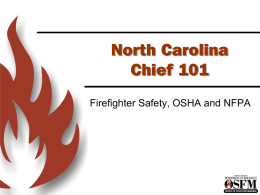 Chief WorkersComp_OSHA - North Carolina Department of Insurance