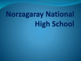 Norzagaray National High School
