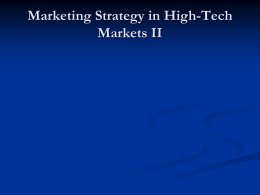 High Tech Strategy II