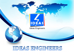 IDEAS ENGINEERS brief profile