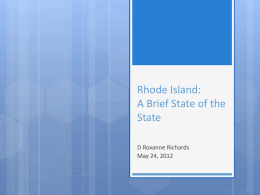 Rhode Island - The Robert Graham Center