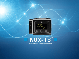 31-NOX company T3 and Noxturnal general overview use