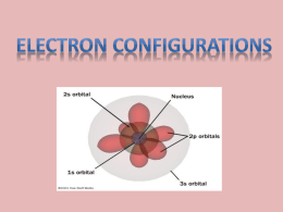 Electron Configurations - Effingham County Schools