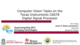 CSCE 612: VLSI System Design - Computer Science & Engineering
