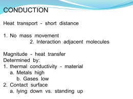 Conduction - ThermalNet