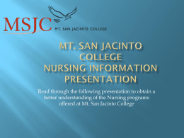 nursing informational powerpoint