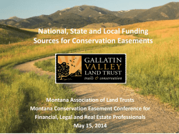 Penelope Pierce - Montana Association of Land Trusts