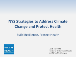 NYS Strategies to Address Climate Change 5.6.13 J.Storm_