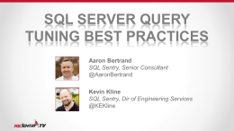 which query - SQL Sentry