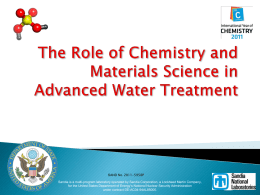 The Role of Chemistry and Materials Science in_EN