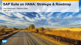 SAP Suite on HANA