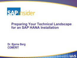 HANA_Technical_Landscape_Preparation_v4