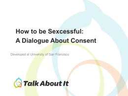 Consent Workshop Women PowerPoint