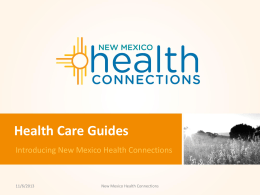 Download/View - New Mexico Health Insurance Exchange