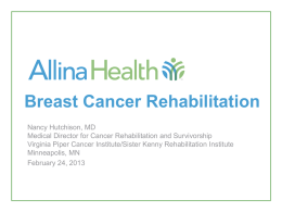 Breast Cancer Rehab_Hutchison