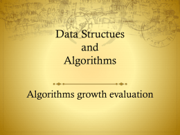 Data Structues and Algorithms