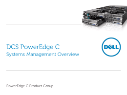 PowerEdge_C_System_Management
