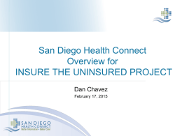 Daniel Chavez, San Diego Health Connect