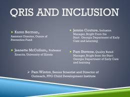 QRIS and Inclusion Institute - PowerPoint