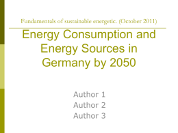 Germany_EnergyScenario