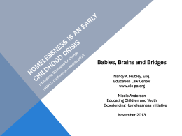 Babies, Brains, and Bridges - The National Association for the