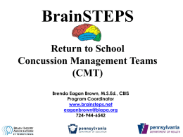 Concussion Management Team defined