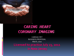Caring Heart & Brain Imaging powerpoint