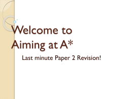 A star paper 2 revision
