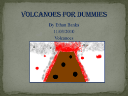 Volcanoes for dummies