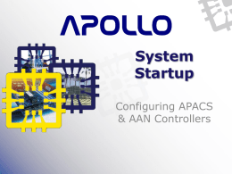 System Startup - Apollo Security