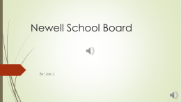 Newell School Board - Newell School District