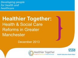 Healthier Together GM Planners 12.12.13
