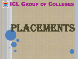 Placement Drive - ICL Group Of Colleges