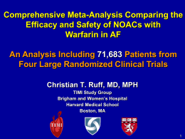 Ruff_Meta-analysis - Clinical Trial Results