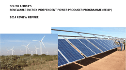 REI4P Review by Liz McDaid - Electricity Governance Initiative