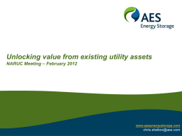 Unlocking value from existing utility assets