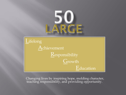 50 LARGE Powerpoint Presentation