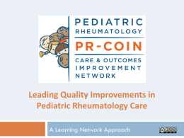 PR-COIN: Making the Case to Hospital Leadership