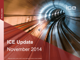 ICE Update - Institution of Civil Engineers