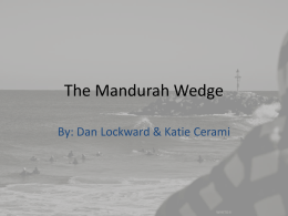 The Mandurah Wedge