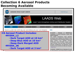 Urban aerosol retrieval in MODIS dark target algorithm