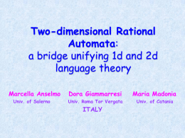 Two-dimensional rational automata: a bridge unifying one and two