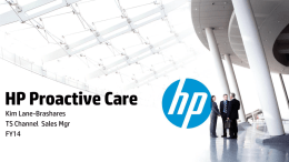 HP Proactive Care