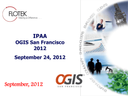 Flotek`s Presentation at IPAA OGIS San Francisco