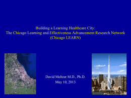 Chicago Learning Effectiveness Advancement Research Network