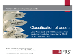 Asset - IFRS