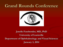 Neuroretinitis - University of Louisville Department of Ophthalmology