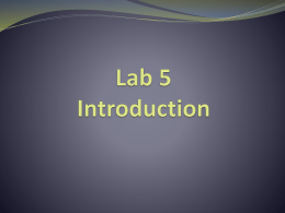 Lab5_Introduction
